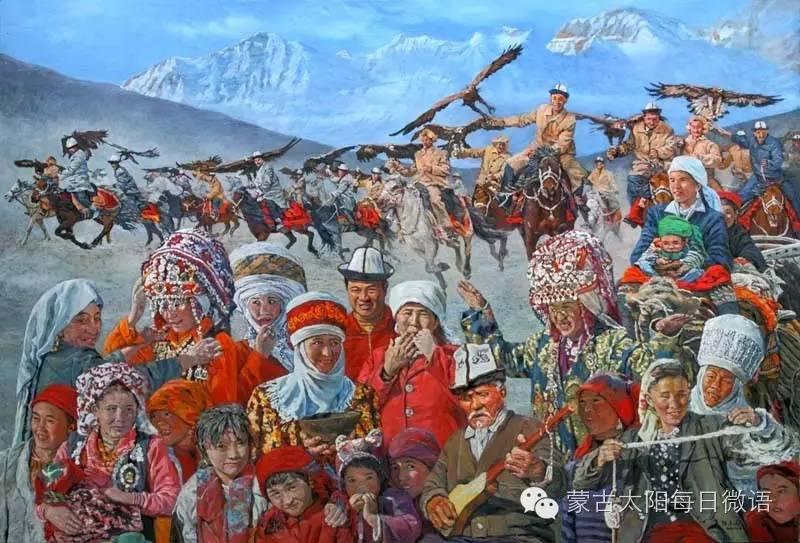 一个蒙古人眼中的欧洲  第32章 世界著名蒙古族画家费岳达尔•卡尔梅克 第14张 一个蒙古人眼中的欧洲  第32章 世界著名蒙古族画家费岳达尔•卡尔梅克 蒙古画廊