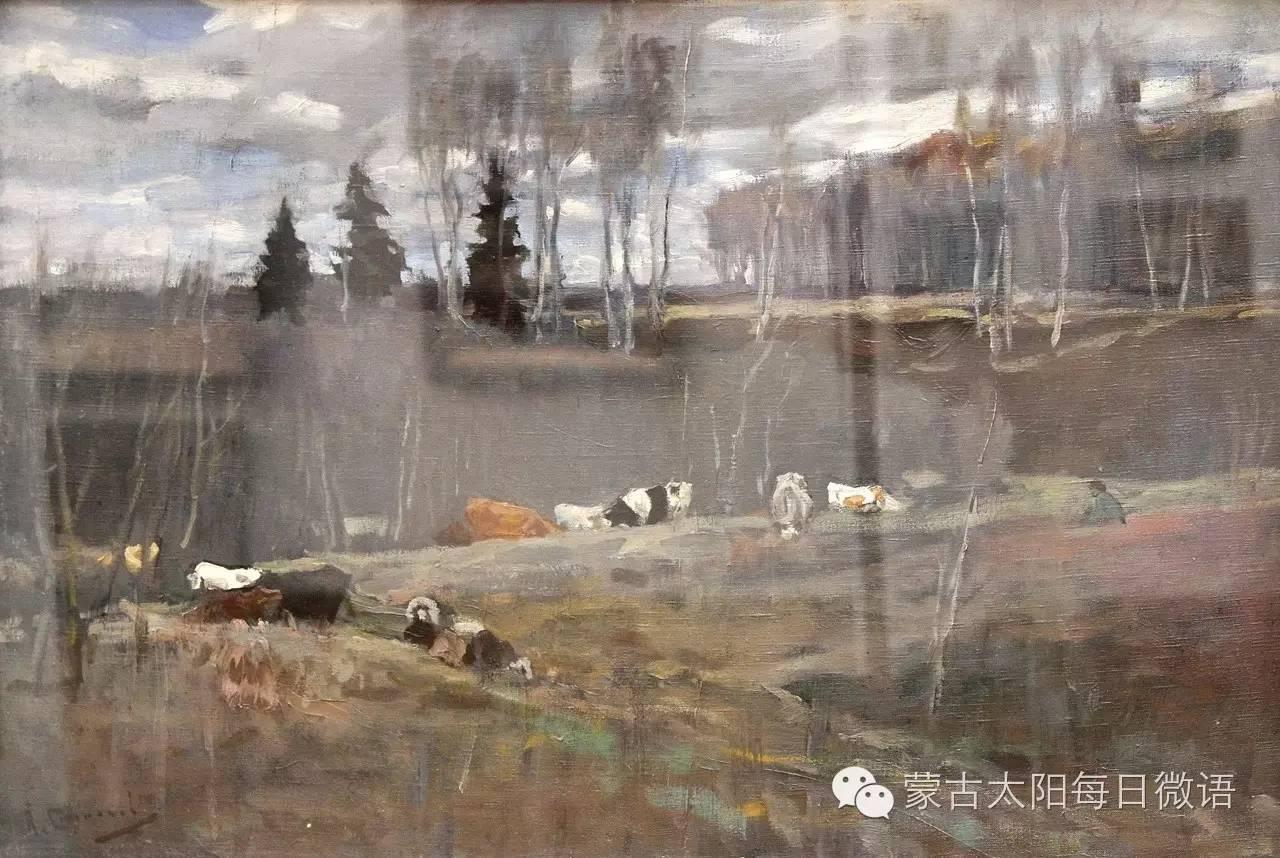 一个蒙古人眼中的欧洲  第32章 世界著名蒙古族画家费岳达尔•卡尔梅克 第30张 一个蒙古人眼中的欧洲  第32章 世界著名蒙古族画家费岳达尔•卡尔梅克 蒙古画廊