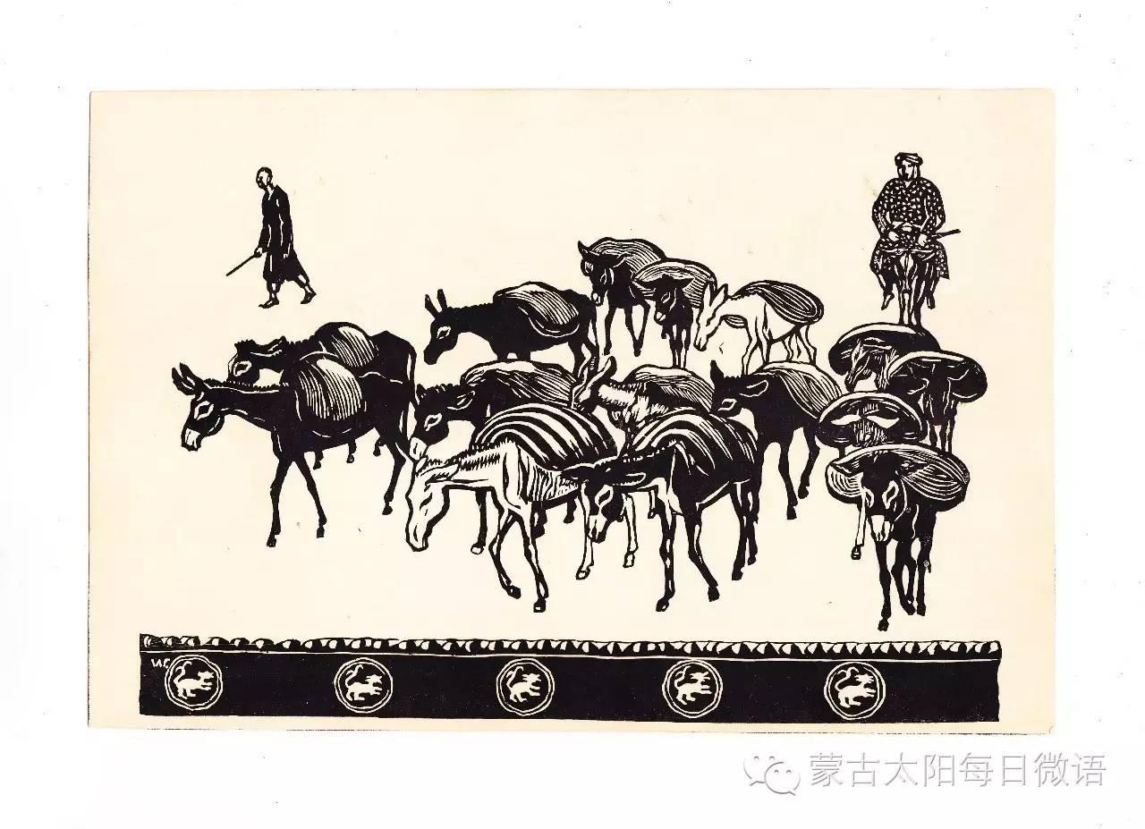 一个蒙古人眼中的欧洲  第32章 世界著名蒙古族画家费岳达尔•卡尔梅克 第35张 一个蒙古人眼中的欧洲  第32章 世界著名蒙古族画家费岳达尔•卡尔梅克 蒙古画廊