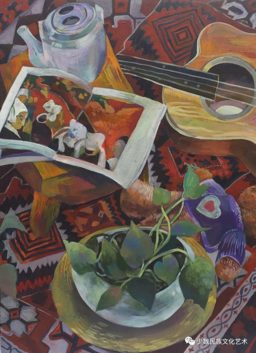 生活.礼物——蒙古族画家杨佳作品欣赏 第3张