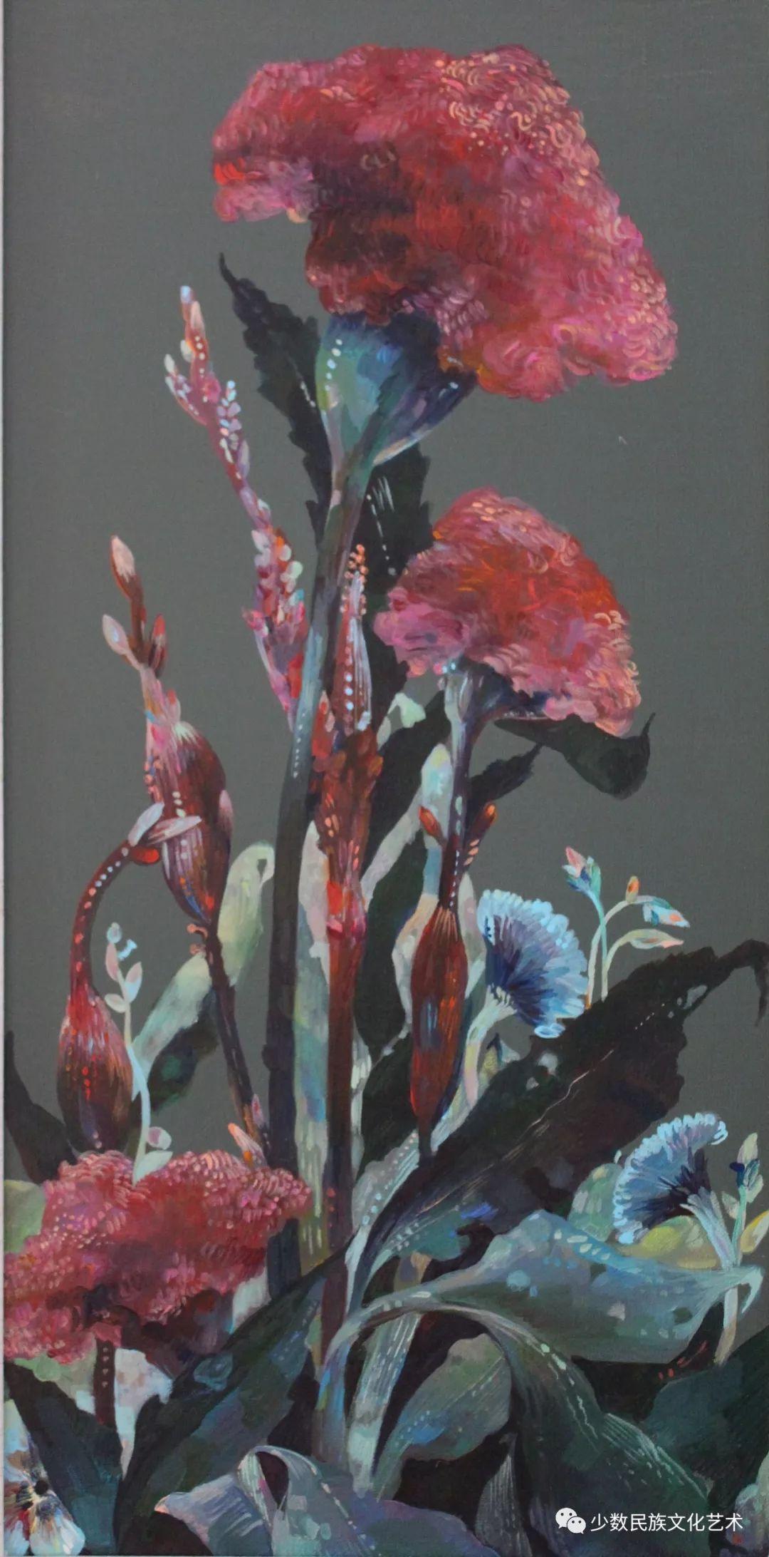 生活.礼物——蒙古族画家杨佳作品欣赏 第2张