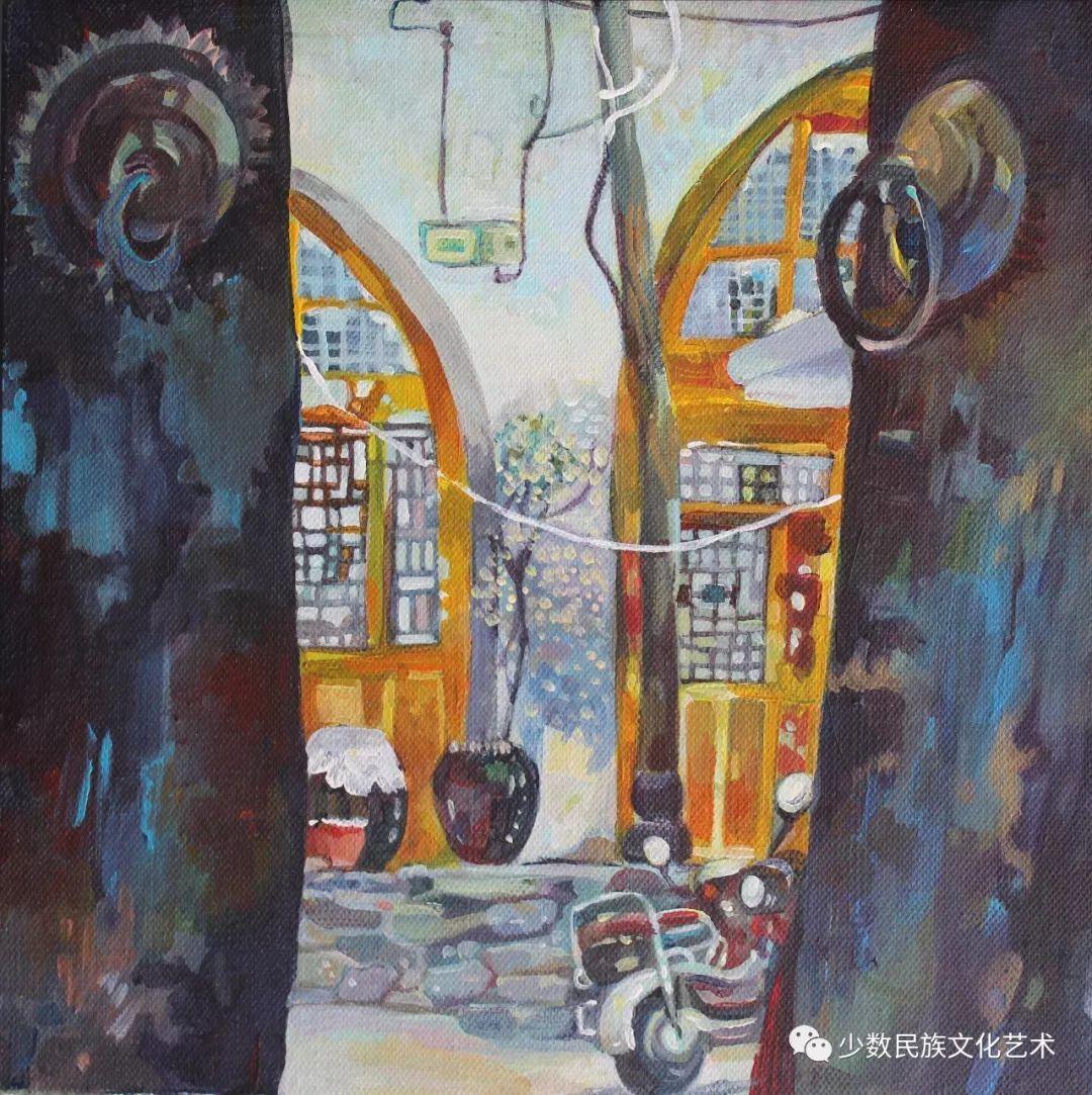 生活.礼物——蒙古族画家杨佳作品欣赏 第8张