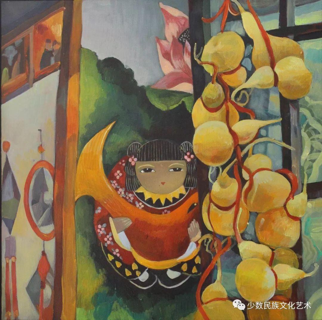 生活.礼物——蒙古族画家杨佳作品欣赏 第16张