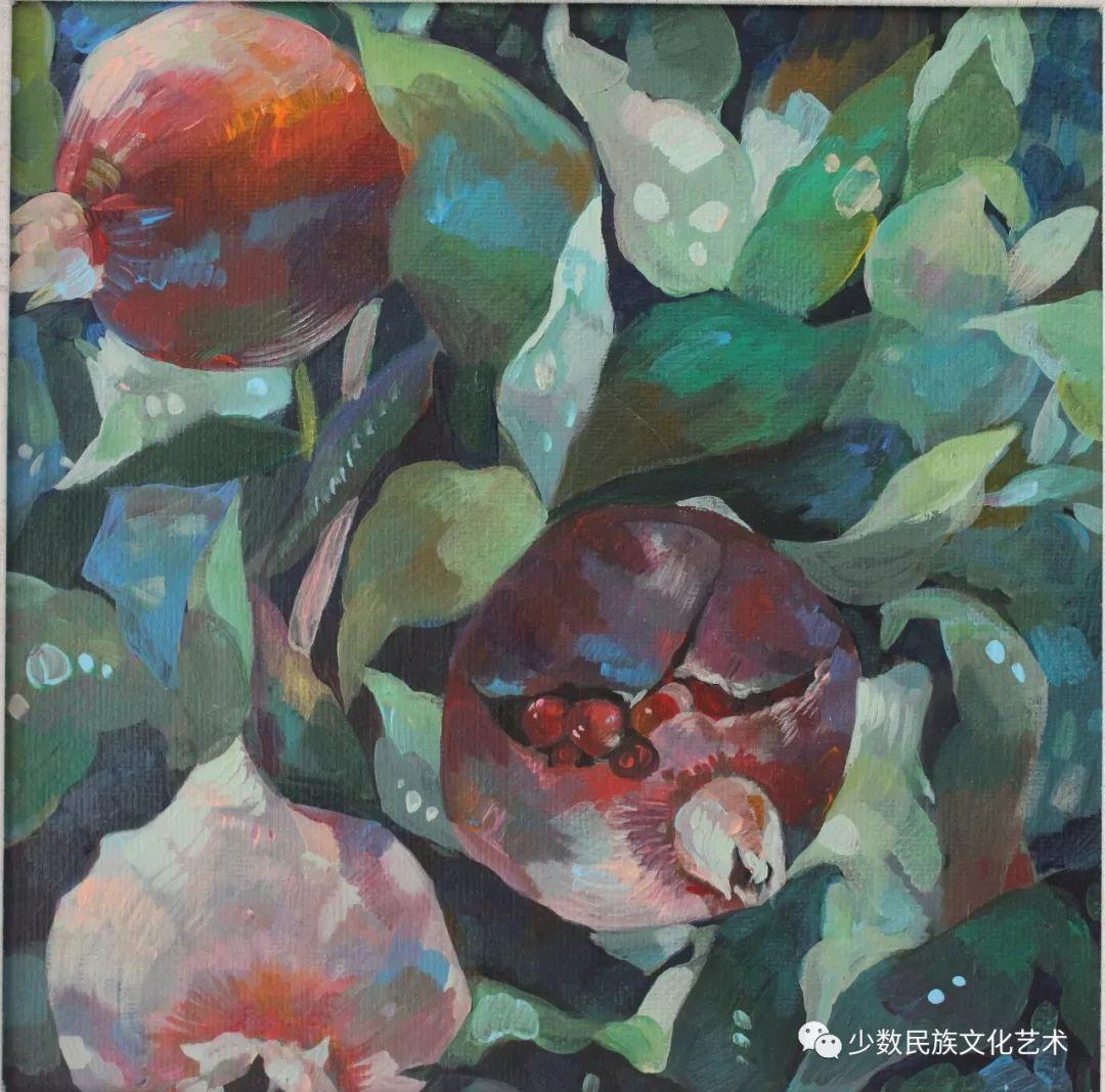 生活.礼物——蒙古族画家杨佳作品欣赏 第19张