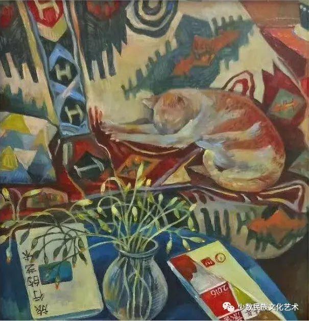 生活.礼物——蒙古族画家杨佳作品欣赏 第21张