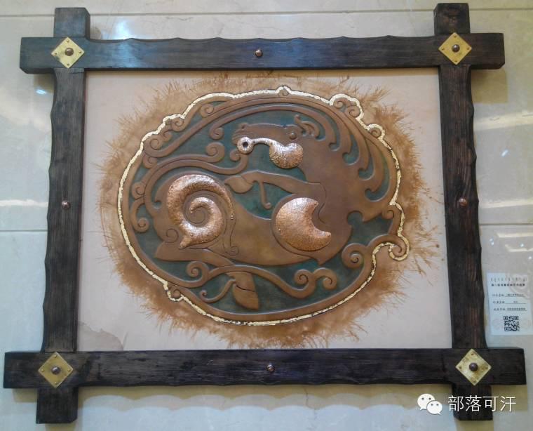蒙古族皮画皮雕艺术欣赏 第12张 蒙古族皮画皮雕艺术欣赏 蒙古工艺
