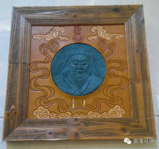 蒙古族皮画皮雕艺术欣赏 第9张