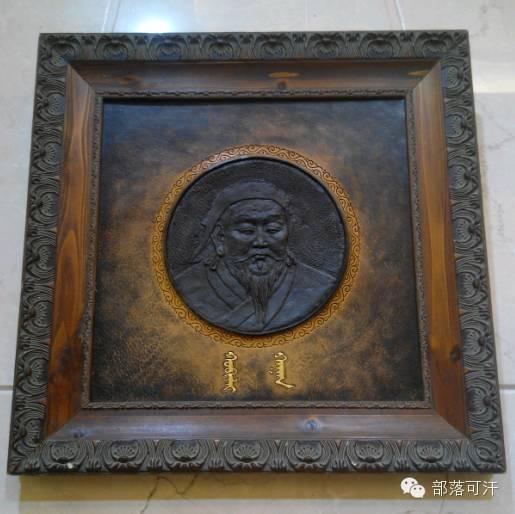 蒙古族皮画皮雕艺术欣赏 第8张