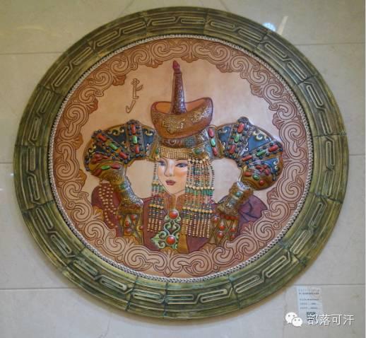 蒙古族皮画皮雕艺术欣赏 第19张 蒙古族皮画皮雕艺术欣赏 蒙古工艺