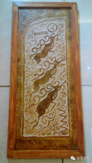 蒙古族皮画皮雕艺术欣赏 第15张 蒙古族皮画皮雕艺术欣赏 蒙古工艺