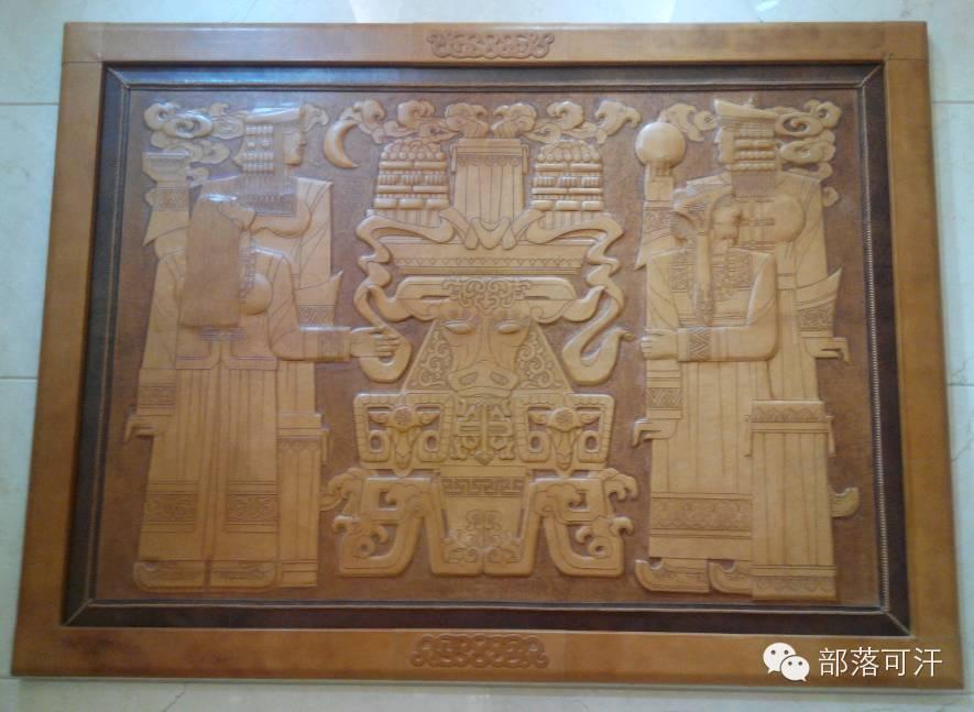 蒙古族皮画皮雕艺术欣赏 第22张 蒙古族皮画皮雕艺术欣赏 蒙古工艺