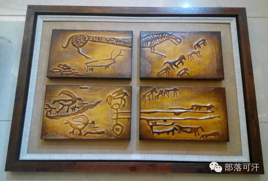 蒙古族皮画皮雕艺术欣赏 第26张