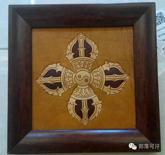 蒙古族皮画皮雕艺术欣赏 第30张