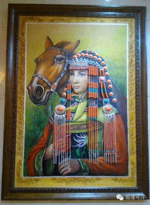 蒙古族皮画皮雕艺术欣赏 第49张 蒙古族皮画皮雕艺术欣赏 蒙古工艺