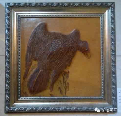 蒙古族皮画皮雕艺术欣赏 第50张 蒙古族皮画皮雕艺术欣赏 蒙古工艺