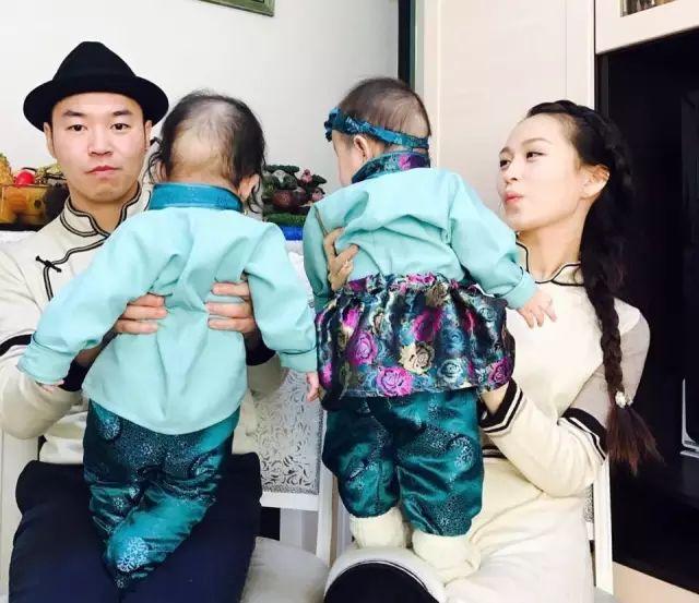 【蒙古服饰图片】蒙古国明星新年装扮 果然是民族服饰最美! 第24张