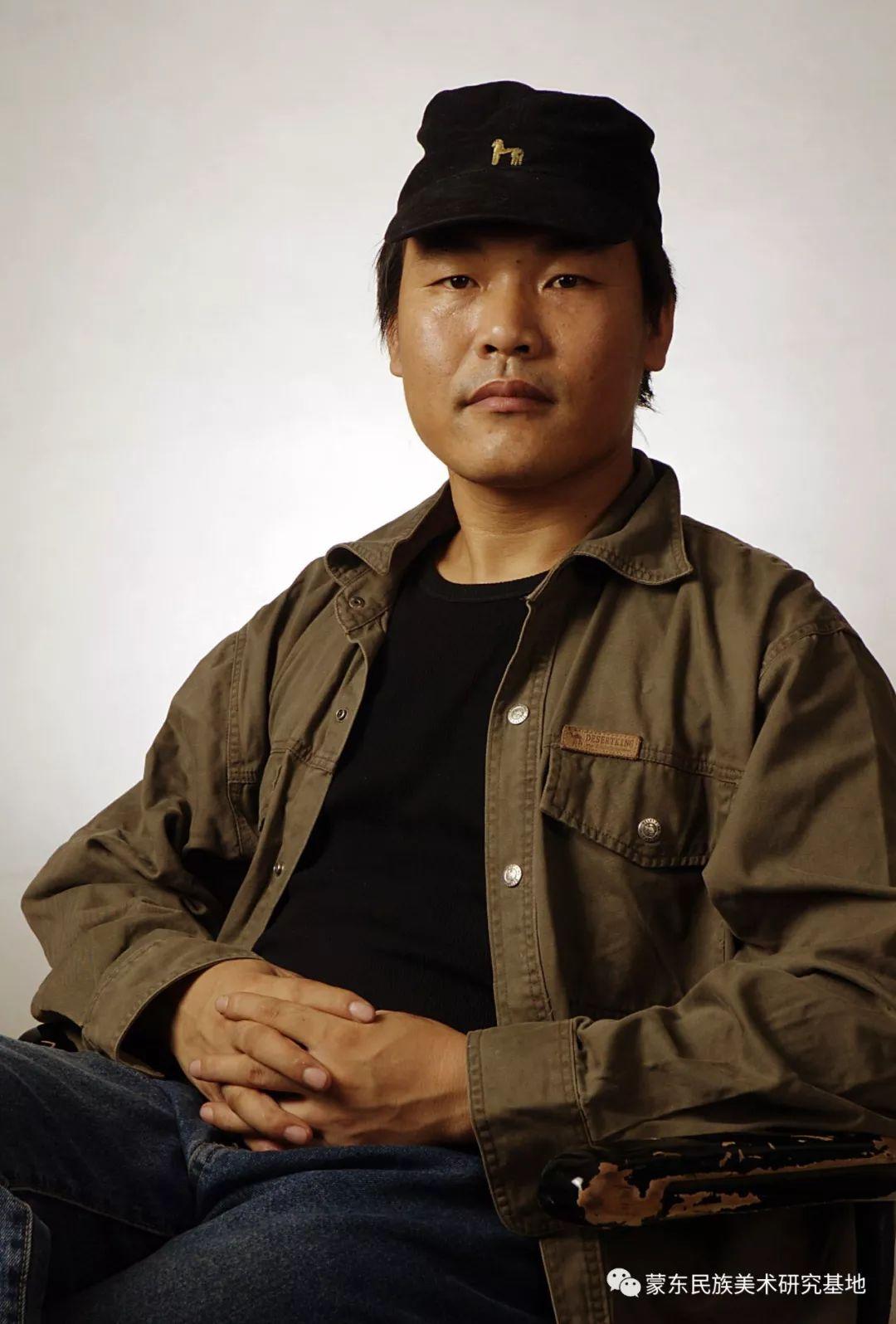 朝鲁门油画作品——中国少数民族美术促进会,蒙东民族美术研究基地画家系列 第18张
