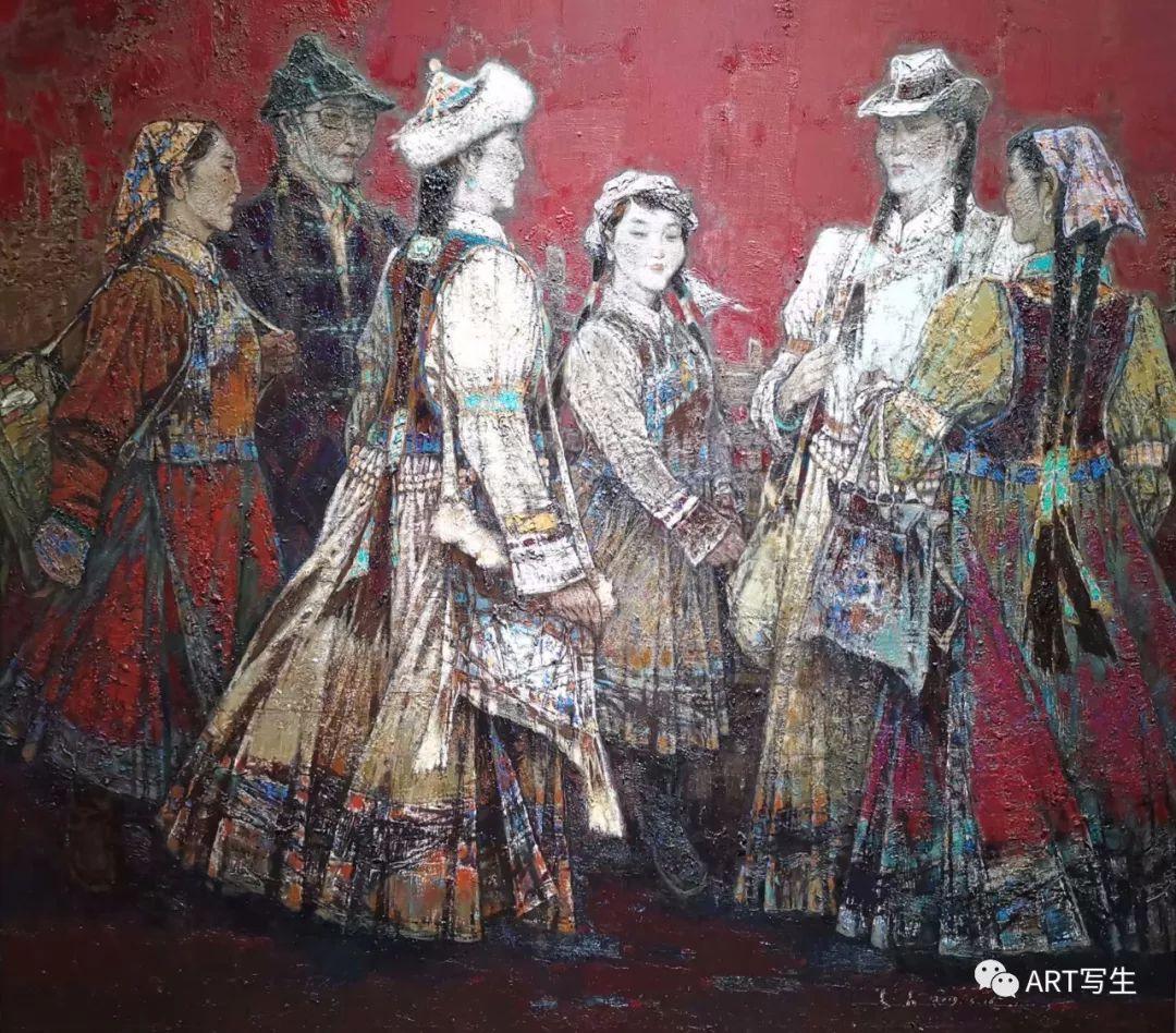 第十三届内蒙古自治区美术作品展览(油画作品) 第2张