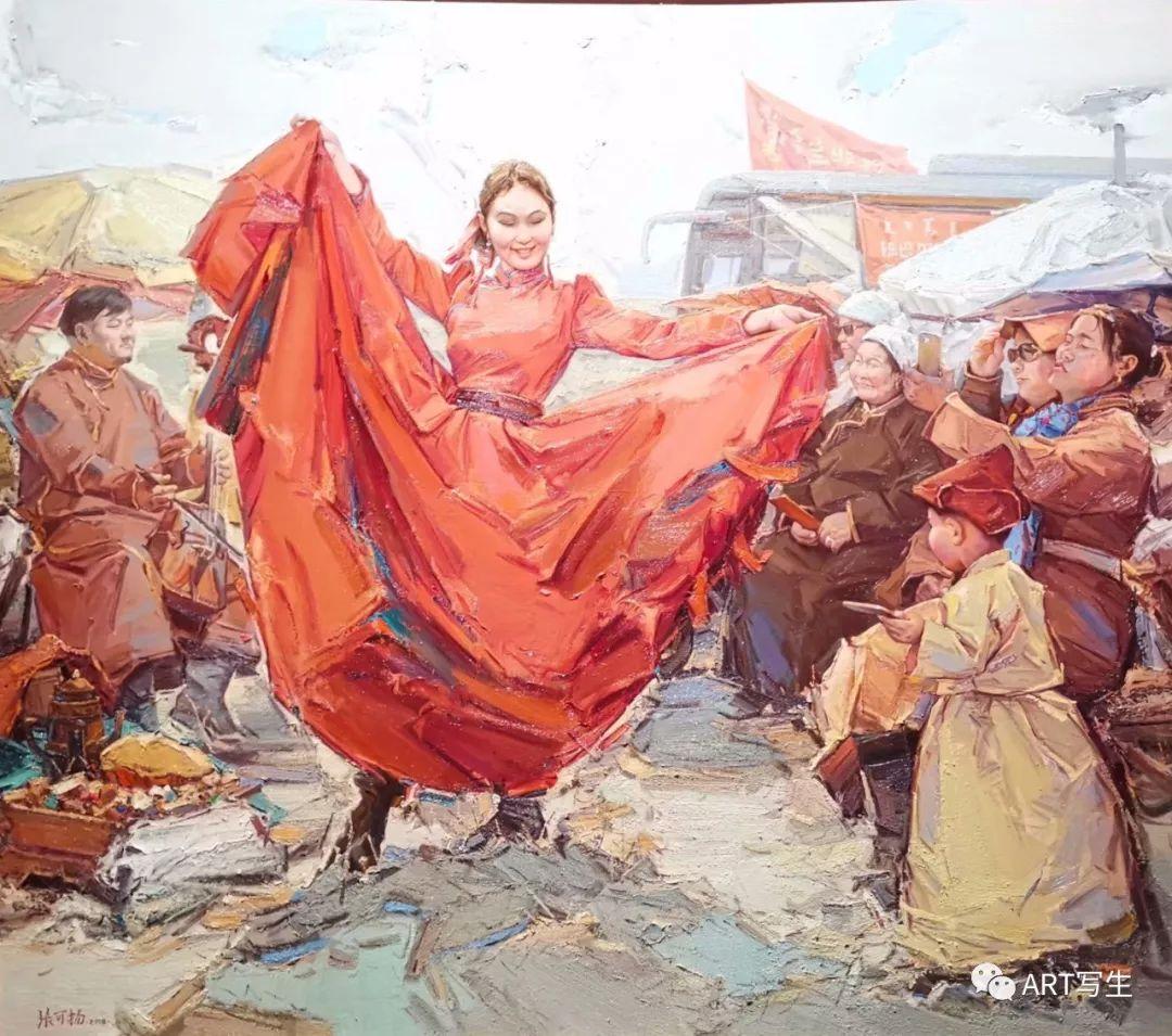 第十三届内蒙古自治区美术作品展览(油画作品) 第5张