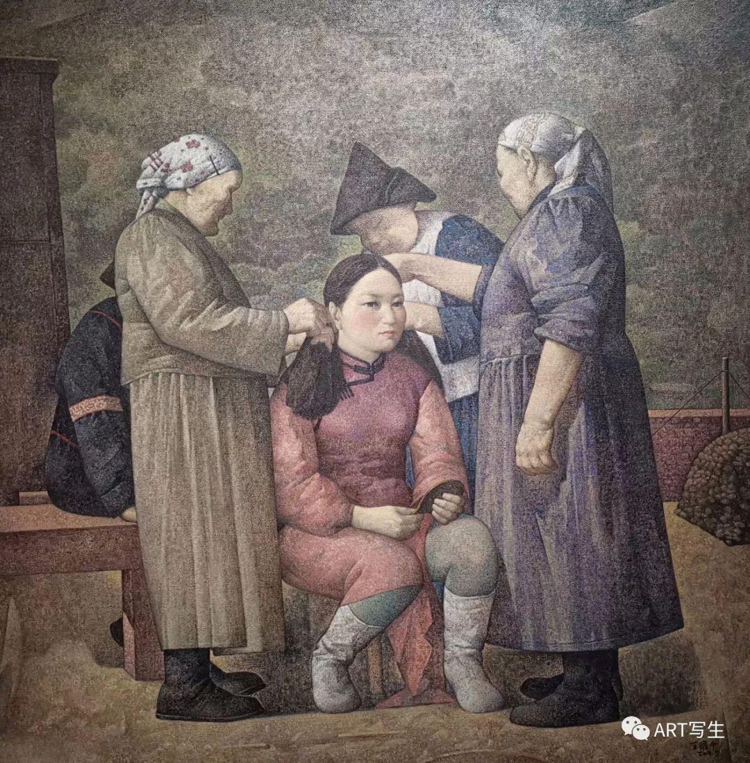 第十三届内蒙古自治区美术作品展览(油画作品) 第4张