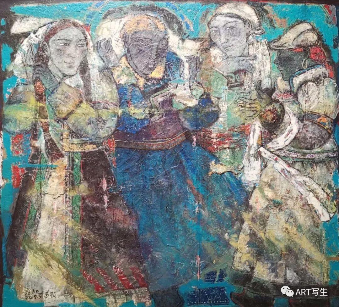 第十三届内蒙古自治区美术作品展览(油画作品) 第6张