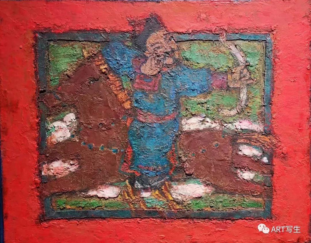 第十三届内蒙古自治区美术作品展览(油画作品) 第7张