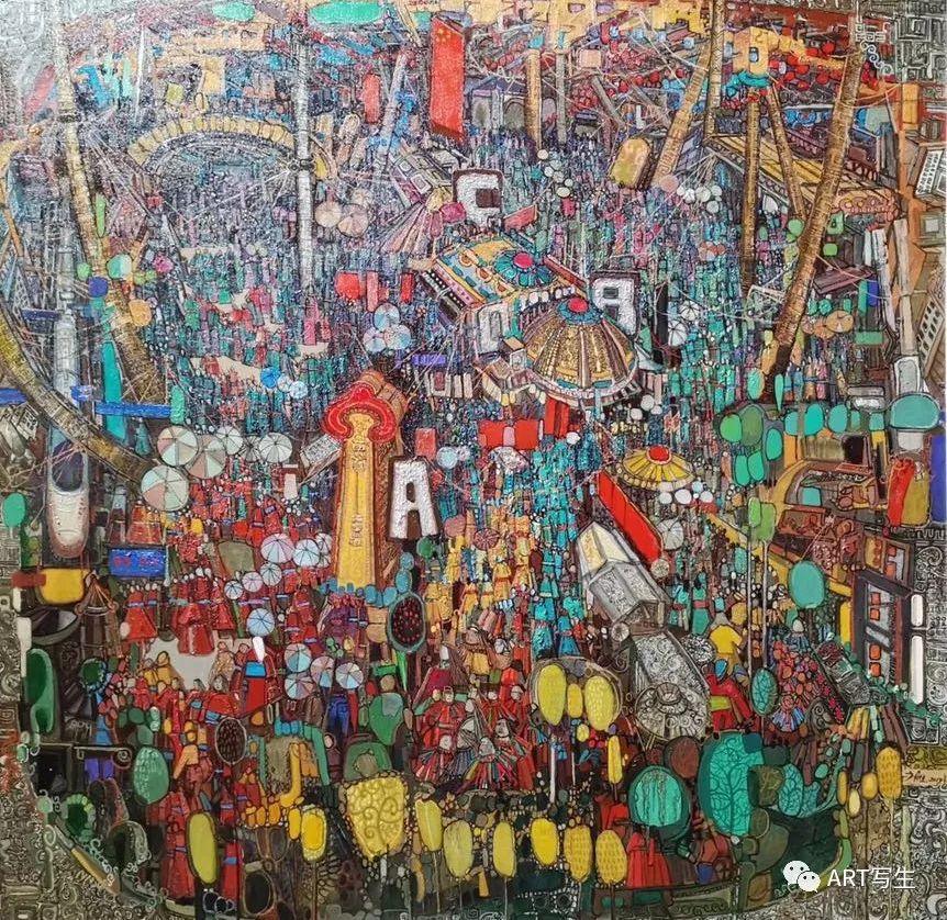 第十三届内蒙古自治区美术作品展览(油画作品) 第11张