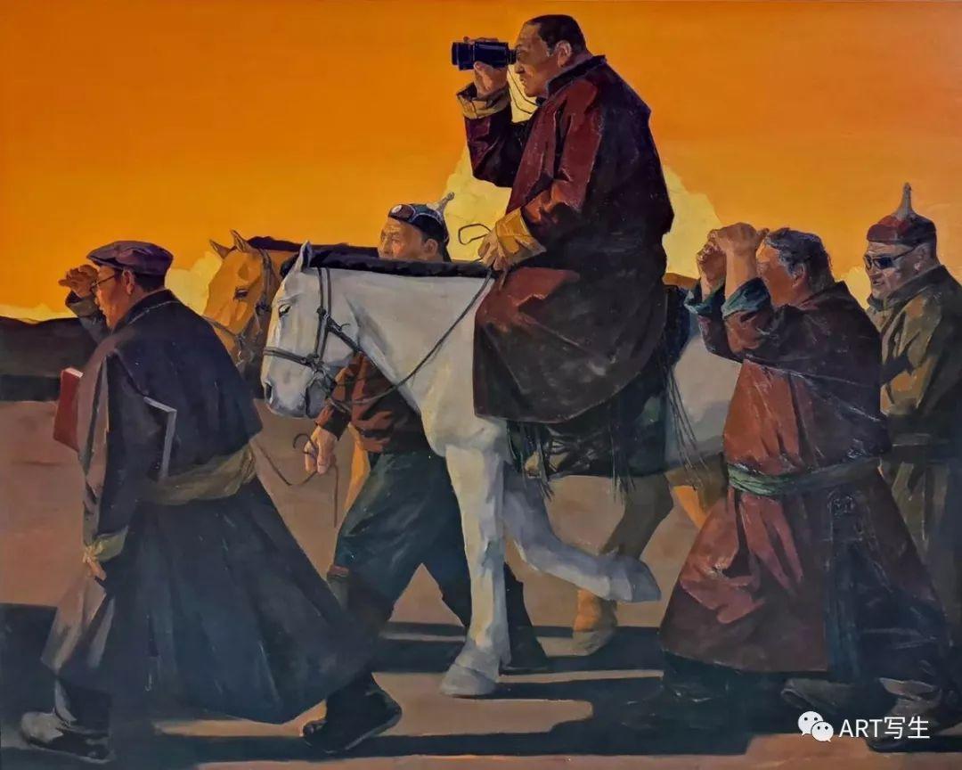 第十三届内蒙古自治区美术作品展览(油画作品) 第14张