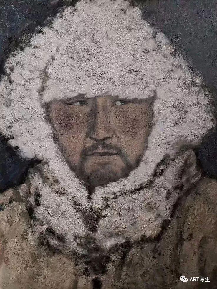 第十三届内蒙古自治区美术作品展览(油画作品) 第15张