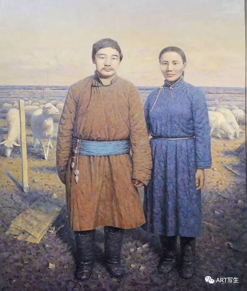第十三届内蒙古自治区美术作品展览(油画作品) 第16张