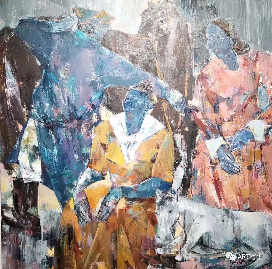 第十三届内蒙古自治区美术作品展览(油画作品) 第17张
