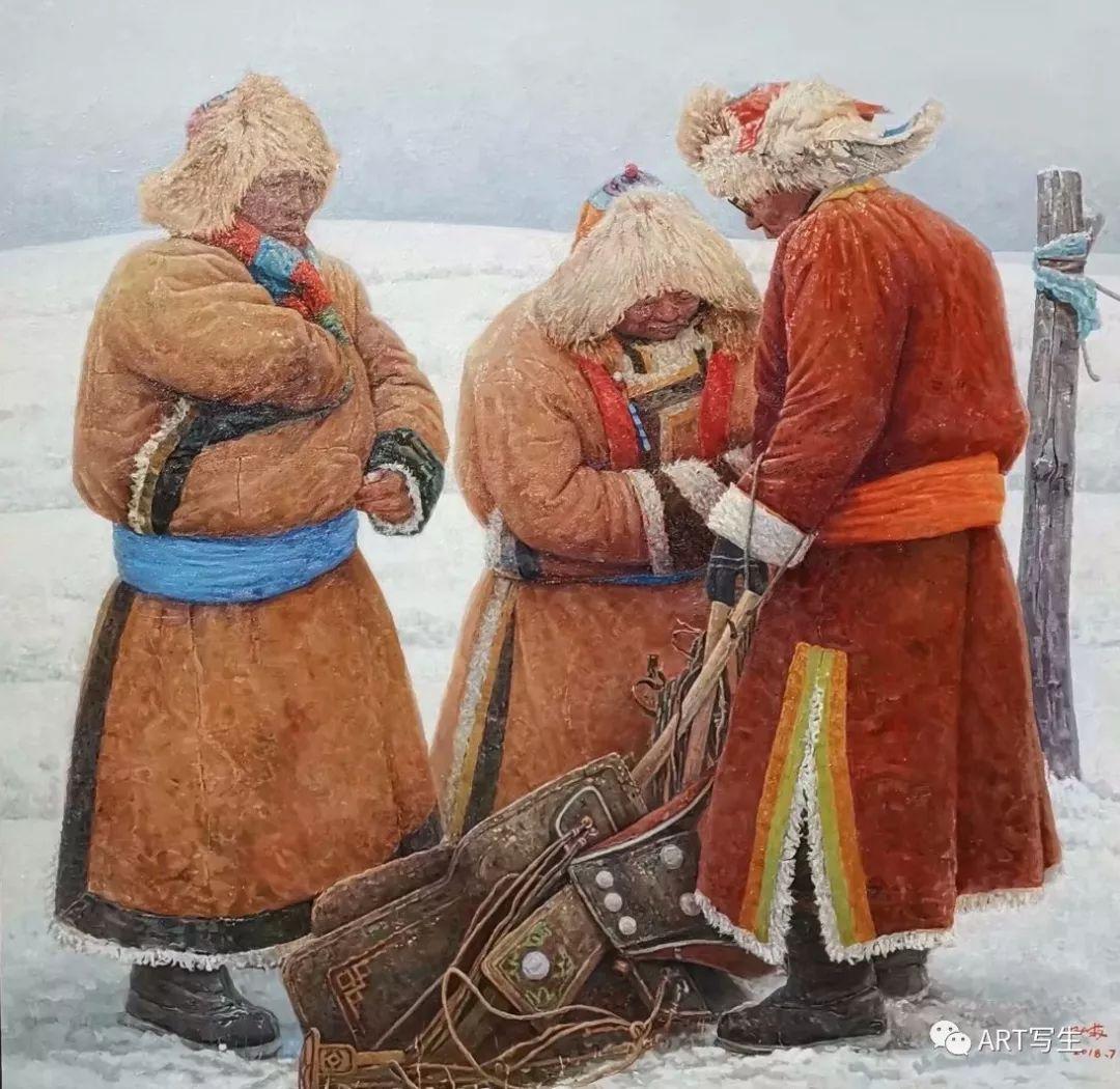 第十三届内蒙古自治区美术作品展览(油画作品) 第20张