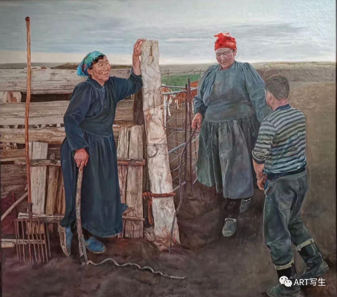 第十三届内蒙古自治区美术作品展览(油画作品) 第26张