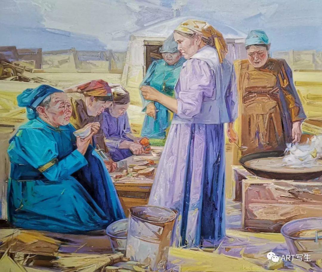 第十三届内蒙古自治区美术作品展览(油画作品) 第27张