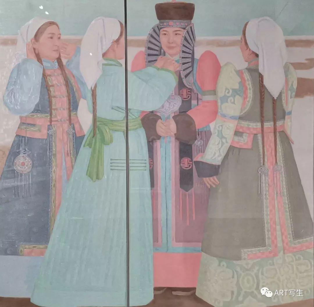第十三届内蒙古自治区美术作品展览(油画作品) 第33张