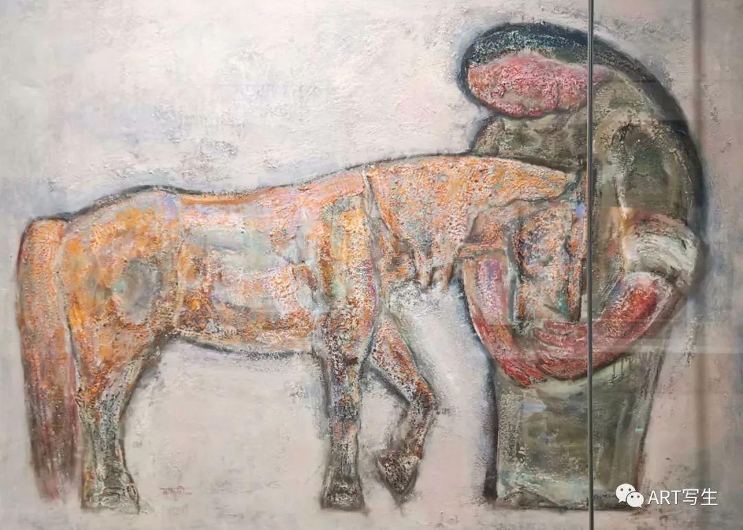 第十三届内蒙古自治区美术作品展览(油画作品) 第35张