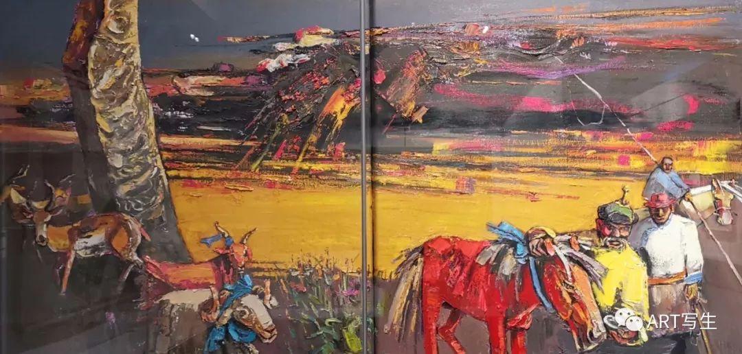 第十三届内蒙古自治区美术作品展览(油画作品) 第42张