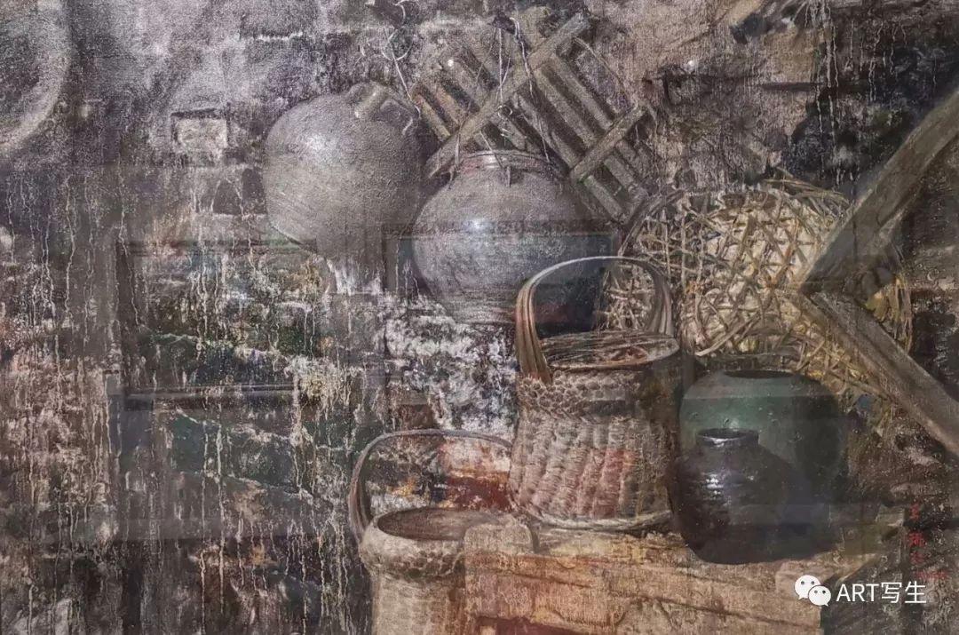 第十三届内蒙古自治区美术作品展览(油画作品) 第46张