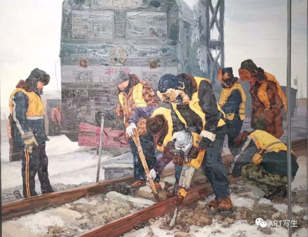 第十三届内蒙古自治区美术作品展览(油画作品) 第45张