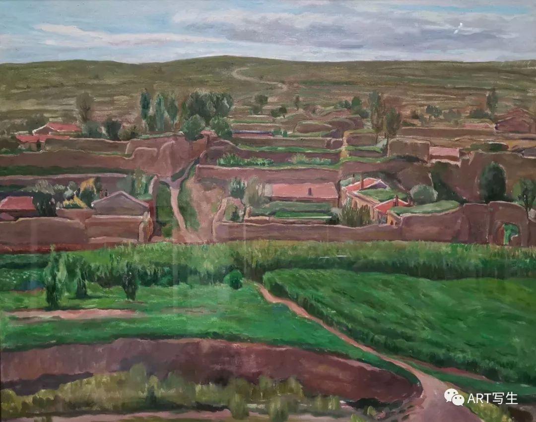 第十三届内蒙古自治区美术作品展览(油画作品) 第49张