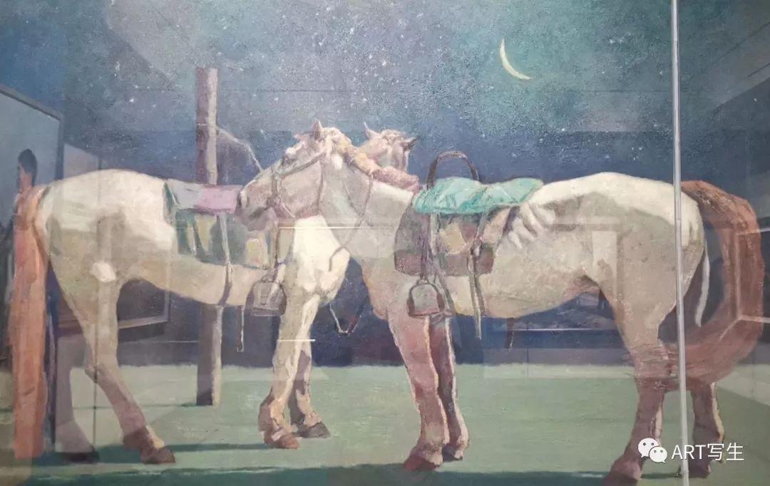 第十三届内蒙古自治区美术作品展览(油画作品) 第50张