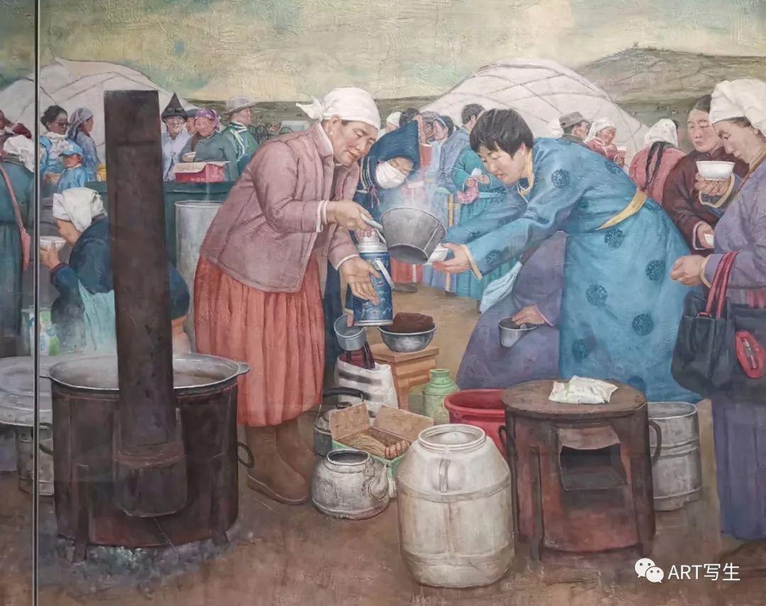 第十三届内蒙古自治区美术作品展览(油画作品) 第54张