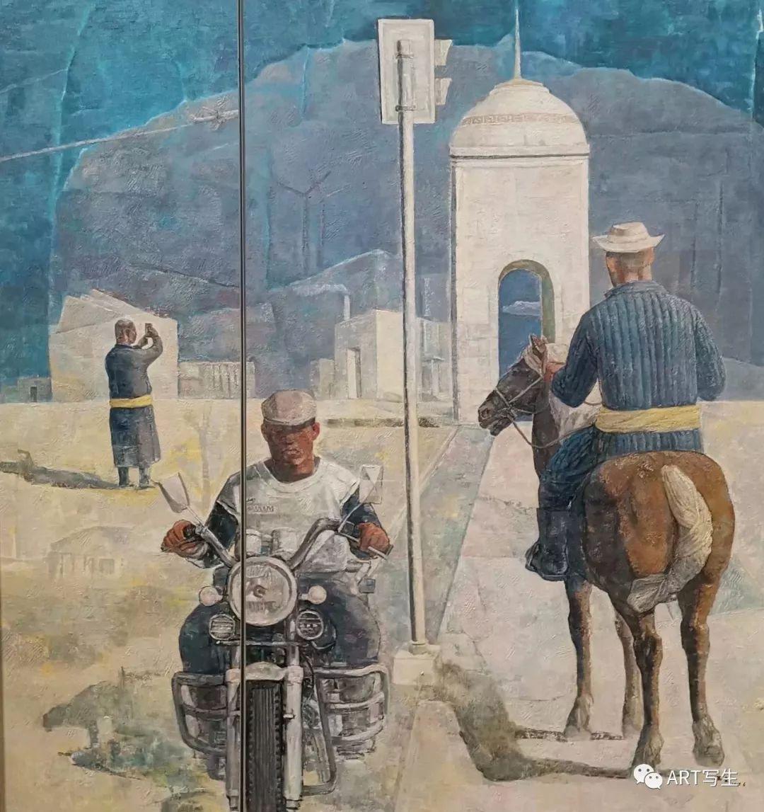第十三届内蒙古自治区美术作品展览(油画作品) 第55张