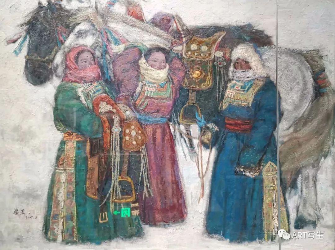第十三届内蒙古自治区美术作品展览(油画作品) 第53张