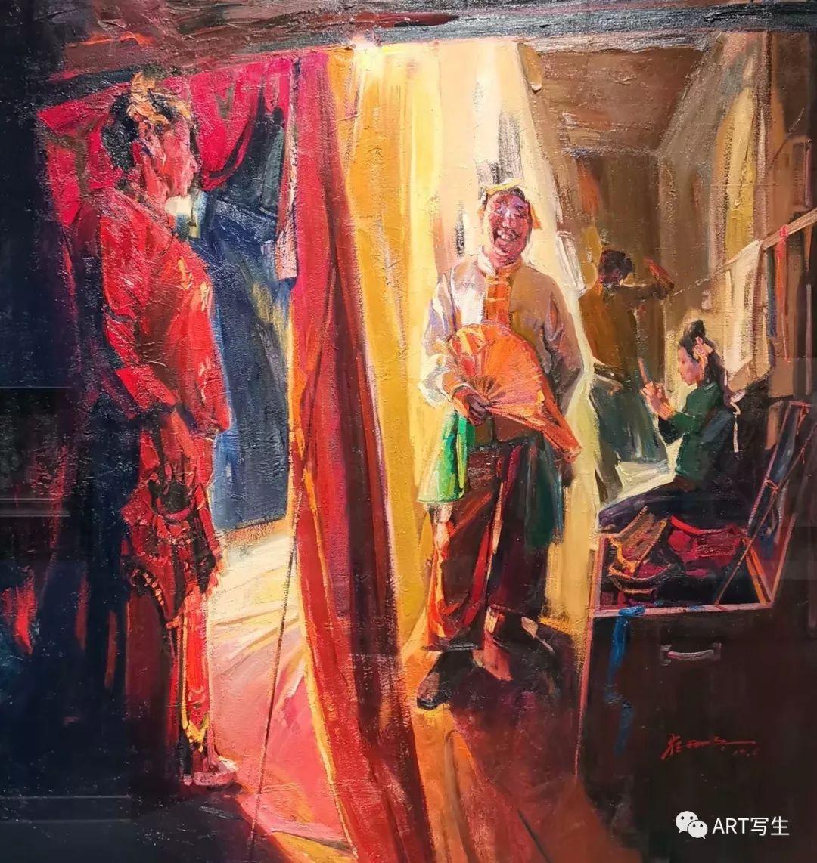 第十三届内蒙古自治区美术作品展览(油画作品) 第57张
