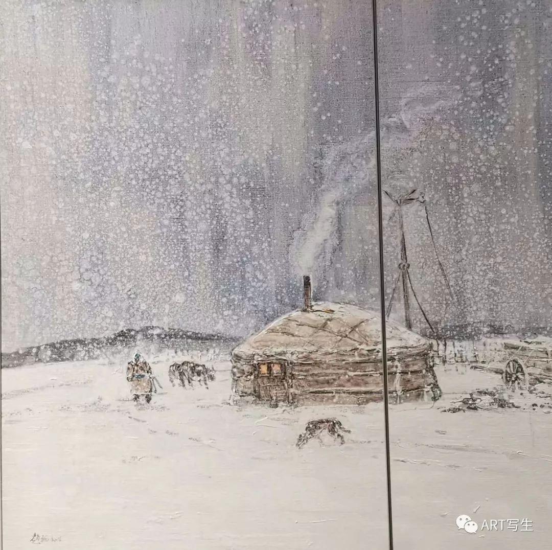 第十三届内蒙古自治区美术作品展览(油画作品) 第58张