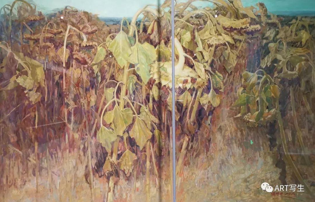 第十三届内蒙古自治区美术作品展览(油画作品) 第61张