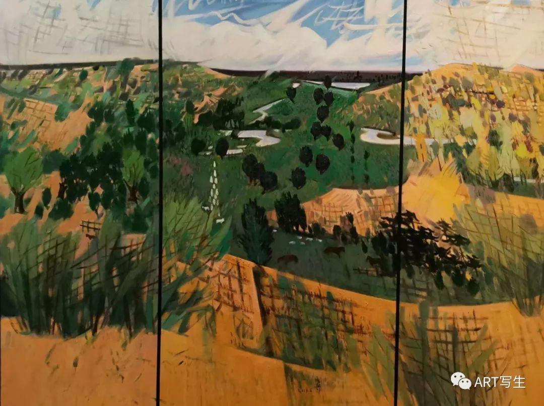 第十三届内蒙古自治区美术作品展览(油画作品) 第66张