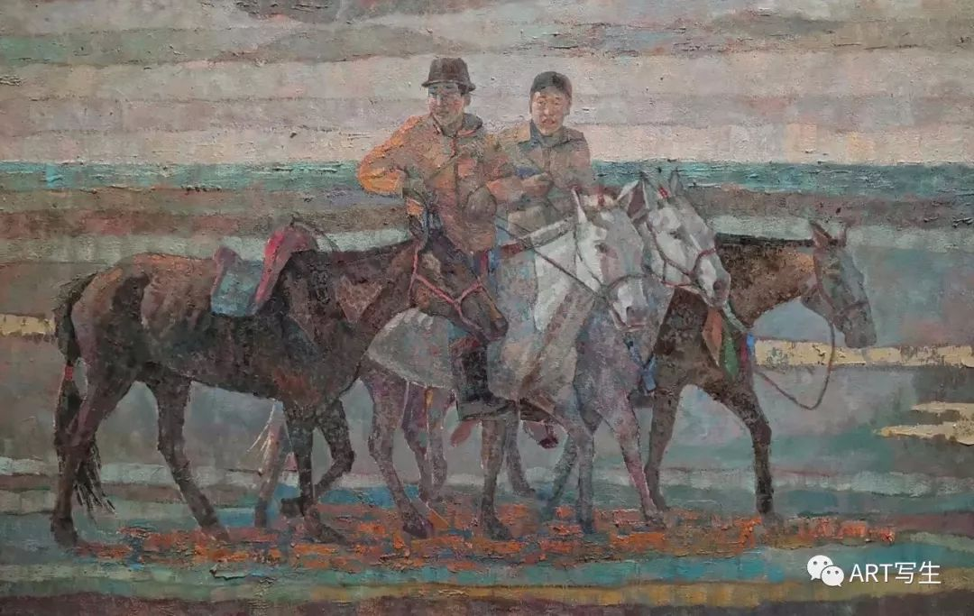 第十三届内蒙古自治区美术作品展览(油画作品) 第68张