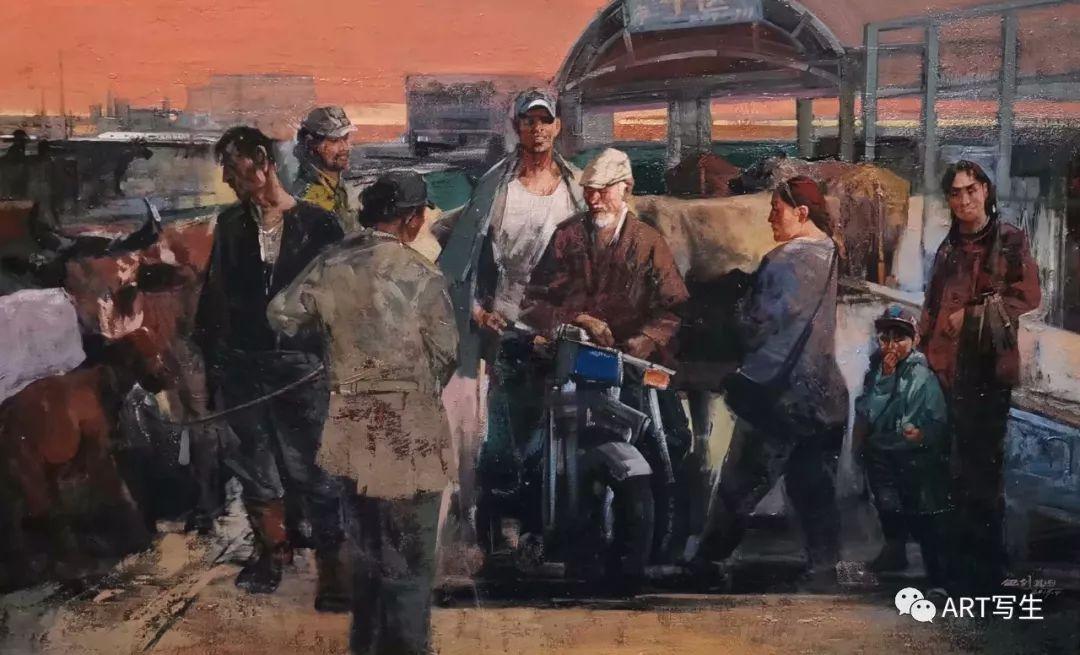 第十三届内蒙古自治区美术作品展览(油画作品) 第76张
